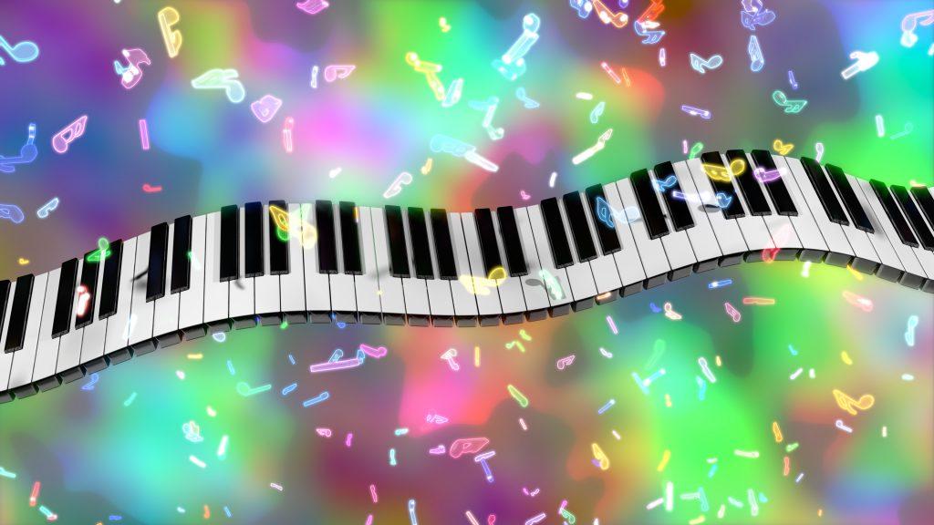 (ジングル)フリーBGM 【楽しい、ワクワク、明るい、10秒、ピアノ、ギター】「ジングル58」無料音楽素材